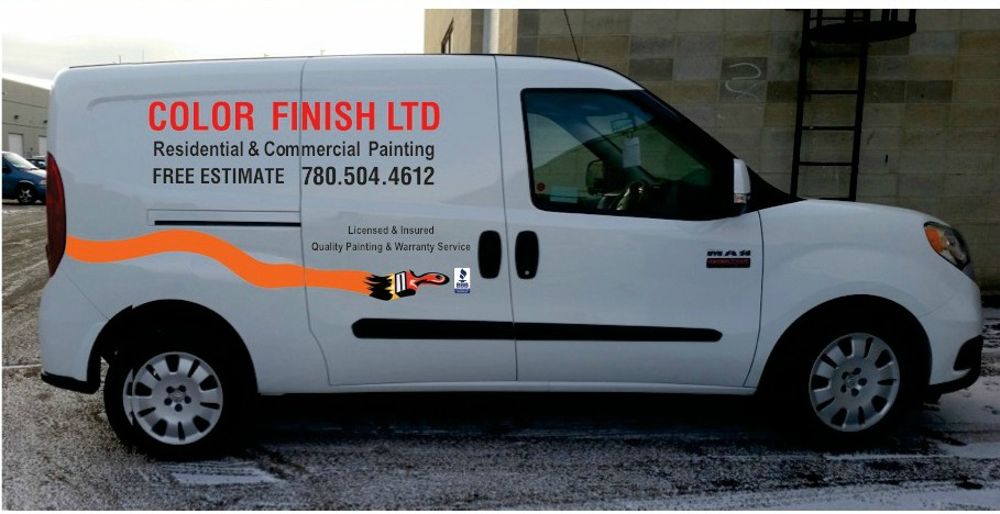 Color Finish Ltd. Commercial, residential painting, renovations, repainting, Edmonton